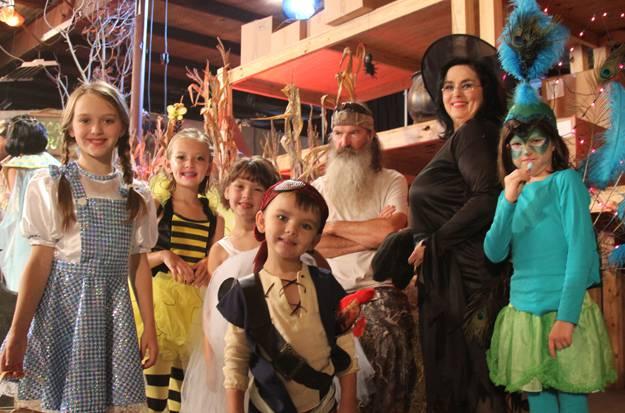 Wir sind Familie: Die Robinsons an Halloween.