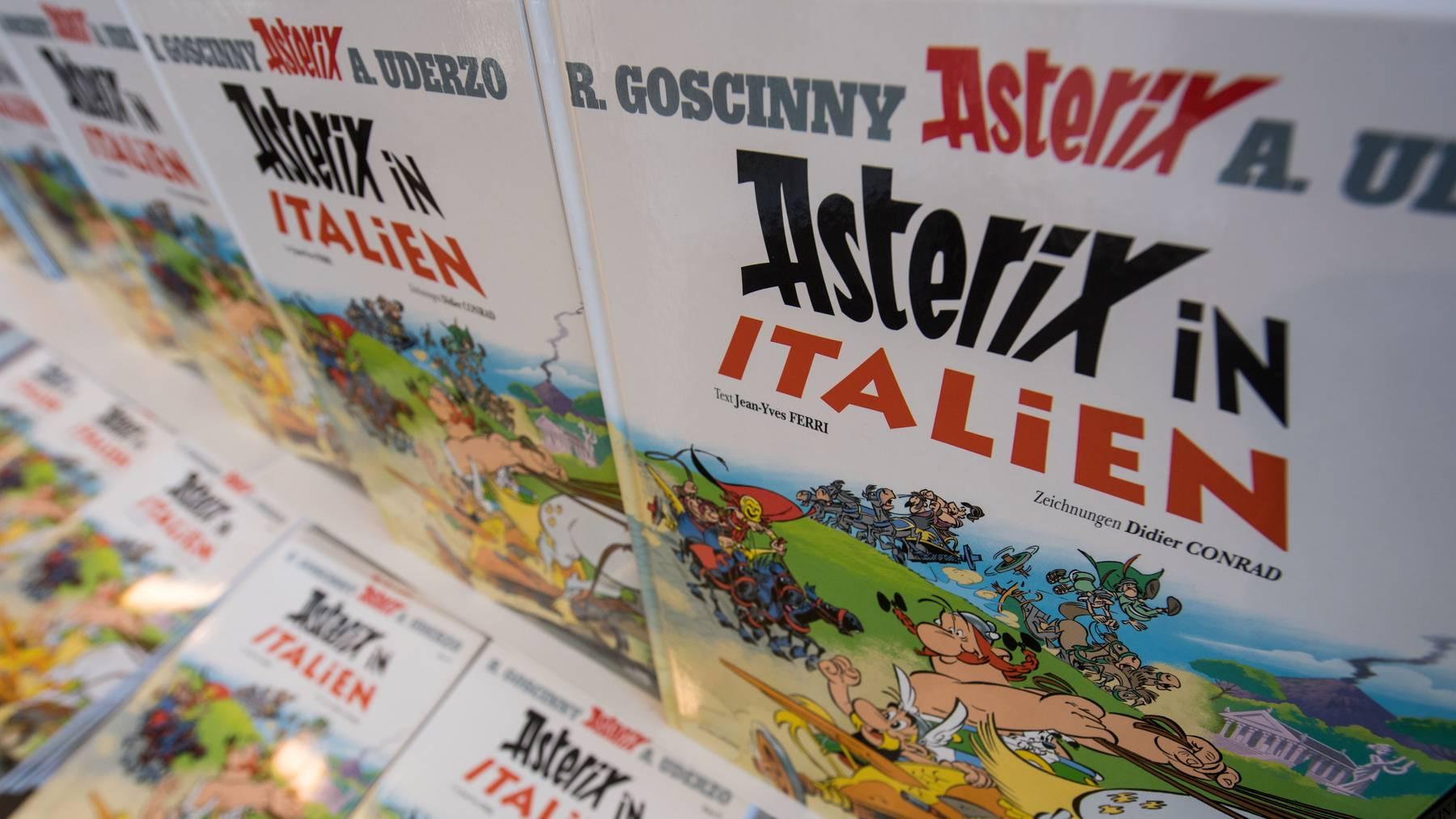 Wer kennt sie nicht - die Abenteuer von Asterix und Obelix?