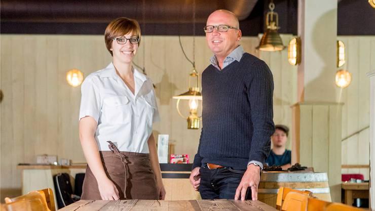 Restaurantleiterin Manuela Reichardt und der neue Resort Manager Jürg Moor haben noch einige Pläne in petto.