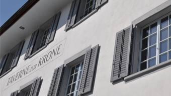 Die Büroräume des historischen Gebäudes Taverne zur Krone blieben lange Ladenhüter. b. hamilton-irvine