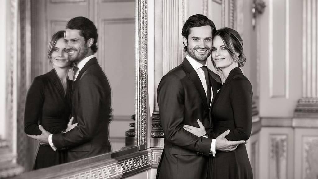 Prinz Carl Philip und Sofia aus Schweden