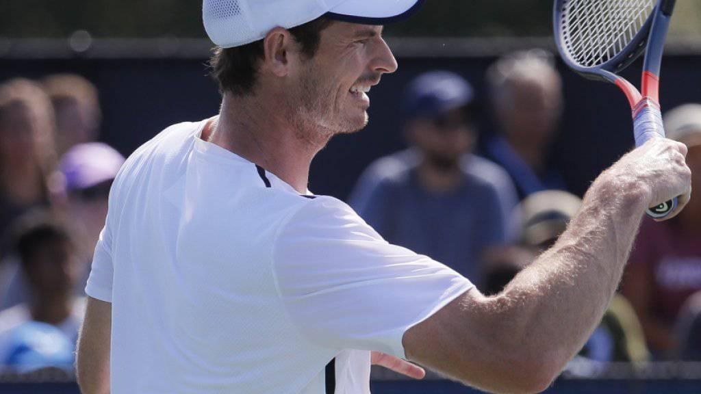 Andy Murray verliert bei Rückkehr auf die Tour