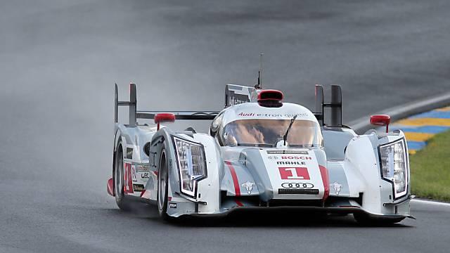 Marcel Fässlers Auto: der Audi R18 e-tron quattro