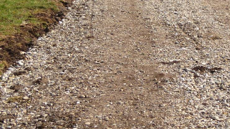 Der Flurweg soll nicht asphaltiert werden. (Symbolbild)