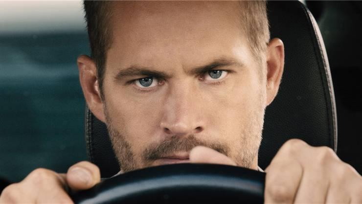 Ein letztes Mal am Steuer: «Fast & Furious 7»-Hauptdarsteller Paul Walker verunglückte an einem drehfreien Tag im November 2013 tödlich. Der fertige Film ist ihm gewidmet. UNIVERSAL
