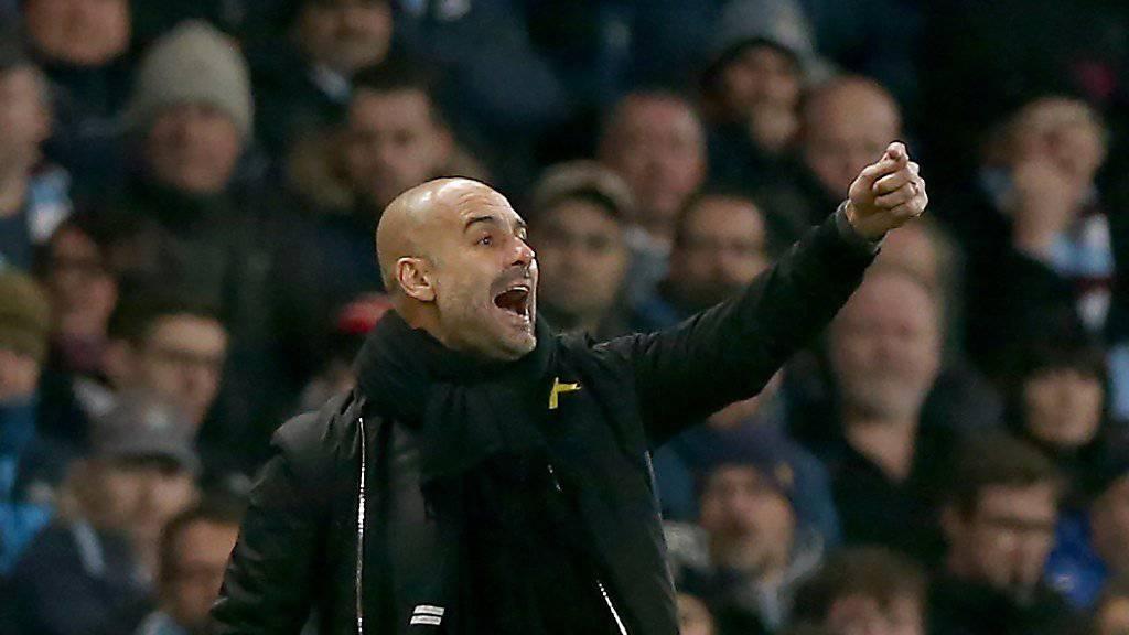 Manchester City will Erfolgstrainer Pep Guardiola längerfristig binden