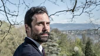 Der höchste Katalane am Ufer des Genfersees: Roger Torrent (38) am Donnerstag im Parc de l'Impératrice unweit des UNO-Sitzes.