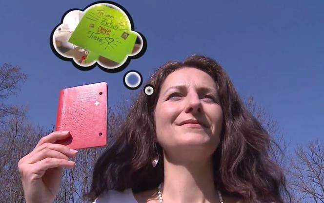 ...und den Schweizer Pass. Im März 2015 meldete sich die Niederländerin an um sich einbürgern zu lassen.