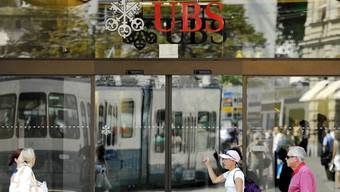 Eingang der UBS am Paradeplatz (Symbolbild)