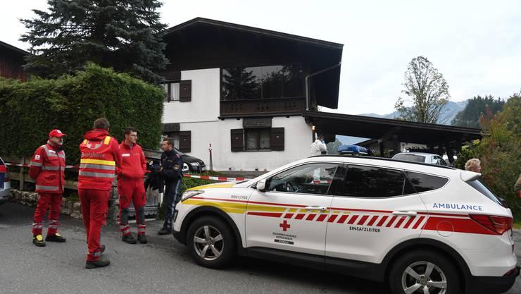 Ein 25-jähriger Österreicher erschoss mutmasslich am frühen Sonntagmorgen, 6. Oktober 2019, seine 19 Jahre alte Ex-Freundin, ihren neuen Freund, ihre Eltern und ihren Bruder.