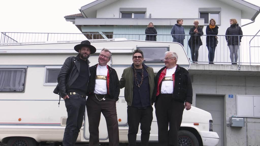 Promibesuch: Bligg und Marc Sway treffen alte Bekannte