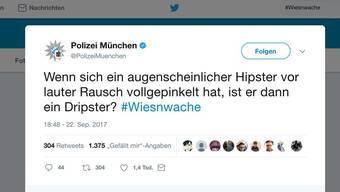 #Wiesnwache: Münchner Polizei twittert vom Oktoberfest