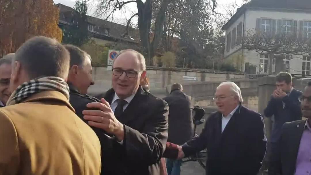 Aargauer SVP-Spitze nach Wahlerfolg