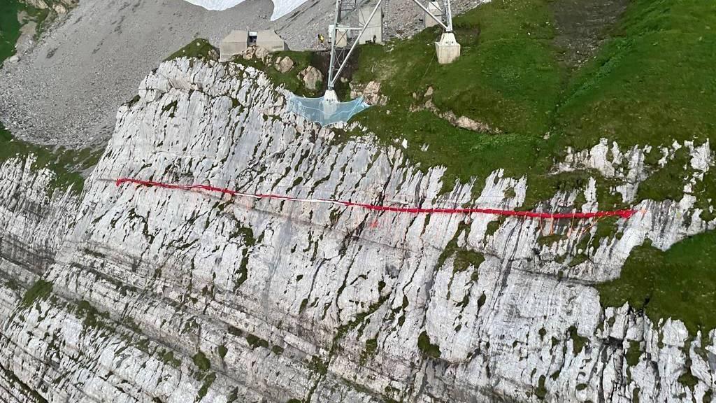 Grösste Schweizerfahne erstmals seit sieben Jahren nicht ausgerollt
