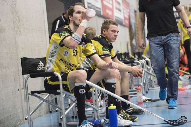 Die Langnauer Marc Oliver Gerber (l.) und Frejd Jens sind geschlagen.