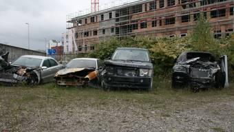 Brandstiftung im Zelgliquartier in Aarau, dahinter steckten Linksautonome