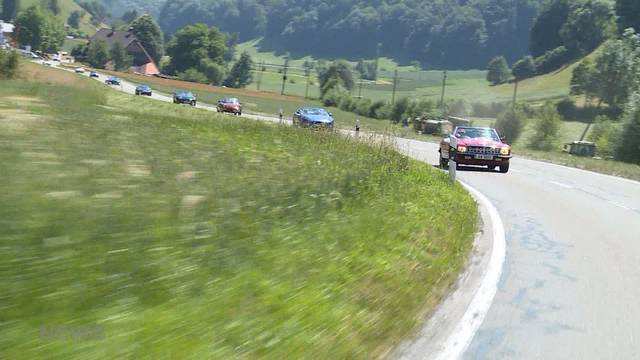 Mosimann-Rallye durch die Schweiz