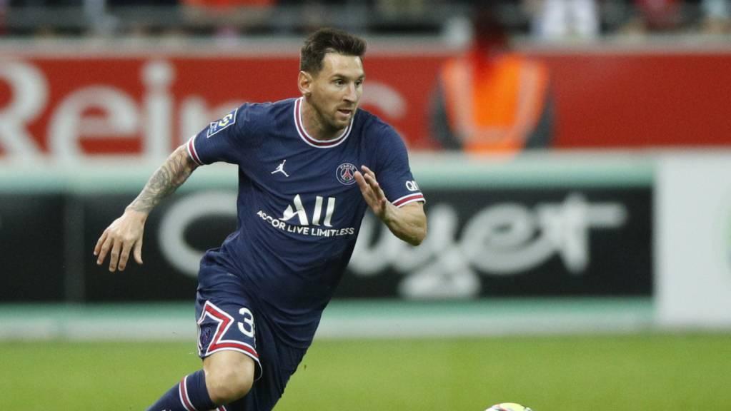 Lionel Messi stand erstmals für Paris Saint-Germain im Einsatz