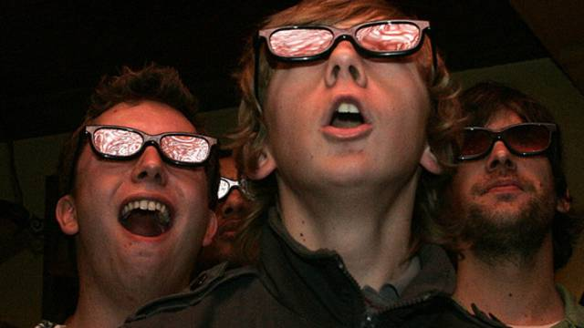 Ungewohntes Bild: Das Konzertpublikum trug 3D-Brillen (Symbolbild)