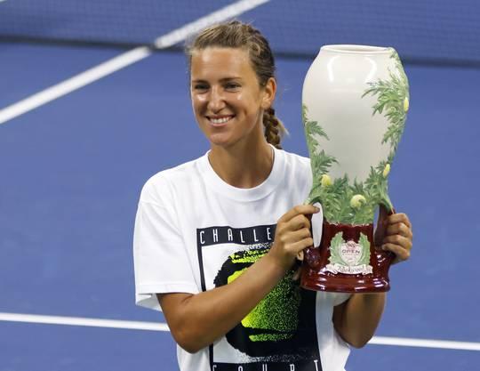 Die Weissrussin Viktoria Azarenka gewann in der Woche vor den US Open erstmals seit vier Jahren wieder ein Turnier.