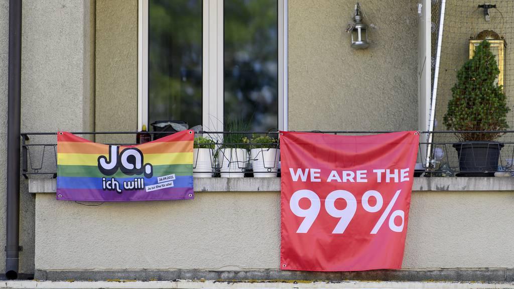 Ehe für Alle und 99%-Initiative – Über diese Vorlagen stimmen wir ab