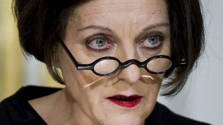 2009 den Literatur-Nobelpreis - und jetzt noch den Hölderlin-Preis: Herta Müller (Archiv).