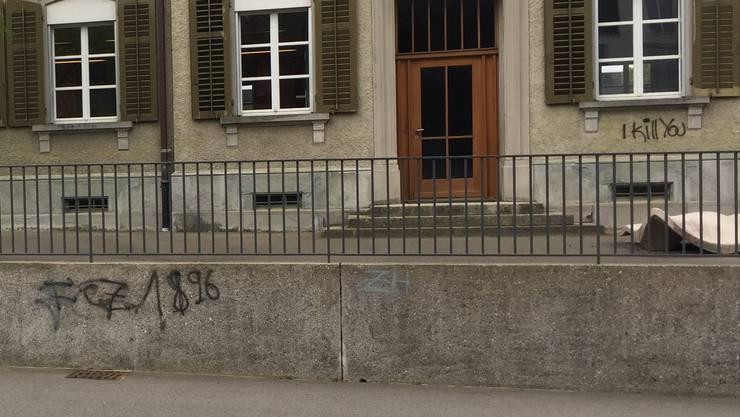 Vandalen richten in Bärentswil an mehreren Gebäuden Sachschaden an.