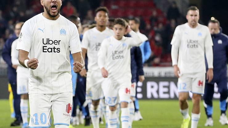 Dimitri Payet kann sich über den Sieg in Saint-Etienne freuen