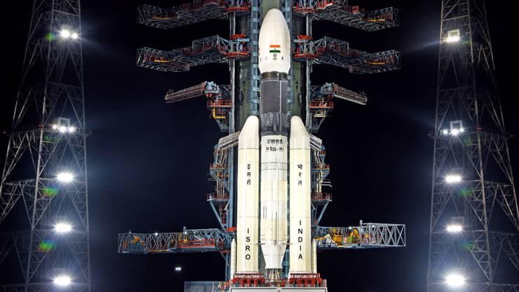 Ein Leck in einem Helium-Tank soll für den Startabbruch von Indiens erster Mondlandemission verantwortlich sein.