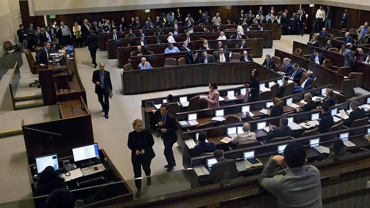 50 zu 43: Im israelischen Parlament wird ein umstrittenes NGO-Gesetz in erster Lesung angenommen.