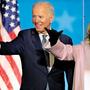 Nahe am Ziel: Der Demokrat Joe Biden, 77, dürfte der nächste US-Präsident werden. Jill Biden, 69, würde als First Lady ins Weisse Haus einziehen