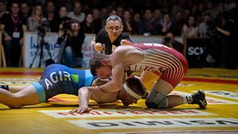 Die Ringerstaffel Freiamt muss sich nach einem turbulenten dritten Finalkampf gegen Willisau geschlagen geben.