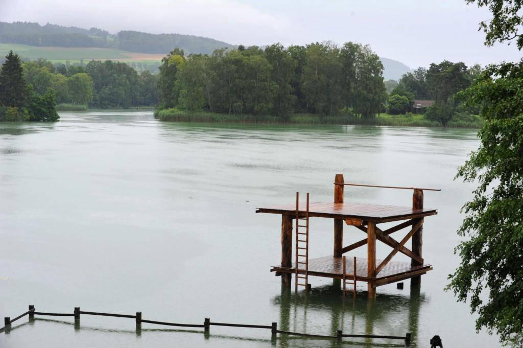 Der Nussbaumersee ist im Sommer ein beliebter Badeort (© Thurgauer Zeitung/Nana do Carmo)