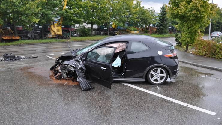 Verkehrsunfall in Egerkingen