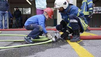 Feuerwehr-Hauptübung in Grenchen