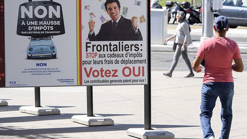 In Genf dürfen künftig für Fahrtkosten zur Arbeit nicht mehr als 500 Franken von den Steuern abgezogen werden.