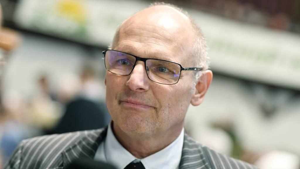 Der Zürcher Nationalrat Alfred Heer will Präsident der SVP werden
