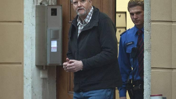 Peter Hans Kneubühl auf einem Bild von 2013. (Archivbild)