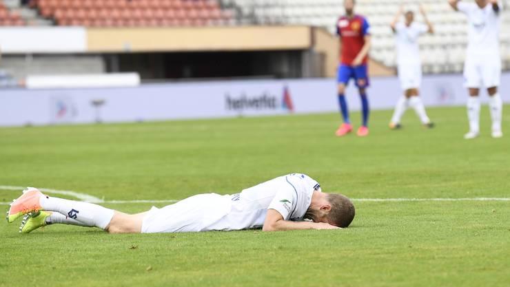 Die Lausanner sind nach dem Spiel masslos enttäuscht.