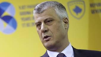 Nach einer turbulenten Wahl ist er der neue Präsident Kosovos, Hashim Thaci, nun vereidigt worden. Und er hat grosse Pläne.