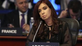 Die argentinische Präsidentin Cristina Kirchner am G-20-Gipfel