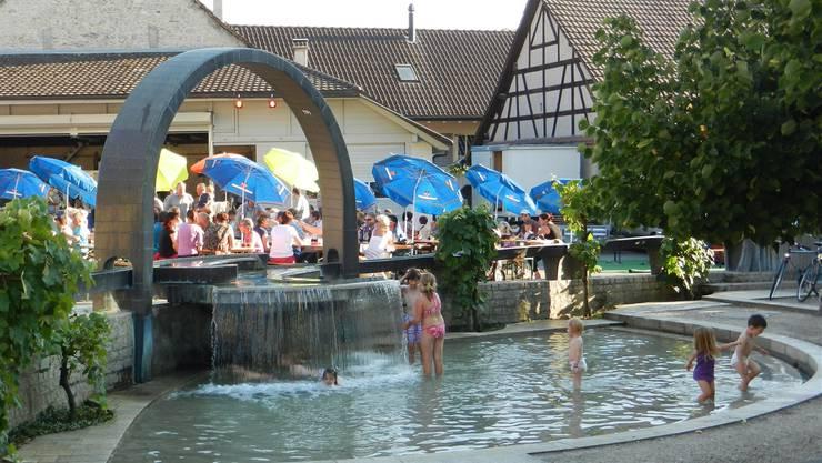 Brunnenfest war ein Publikumsmagnet.