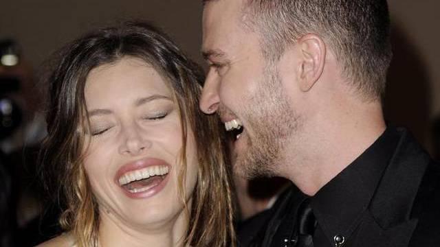 """""""Immer jemand da, der das Gurkenglas aufmacht"""": Jessica Biel über die Vorteile der Ehe mit Justin Timberlake (Archiv)"""