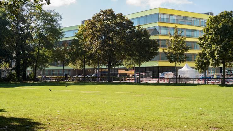 Unter den Tschudi-Park soll ein unterirdisches Parking für das UKBB kommen.