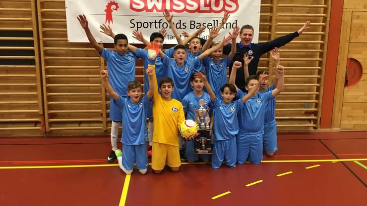 Das Team Zugerland gewann den Final gegen die Old Boys mit einem Golden Goal in der Verlängerung.