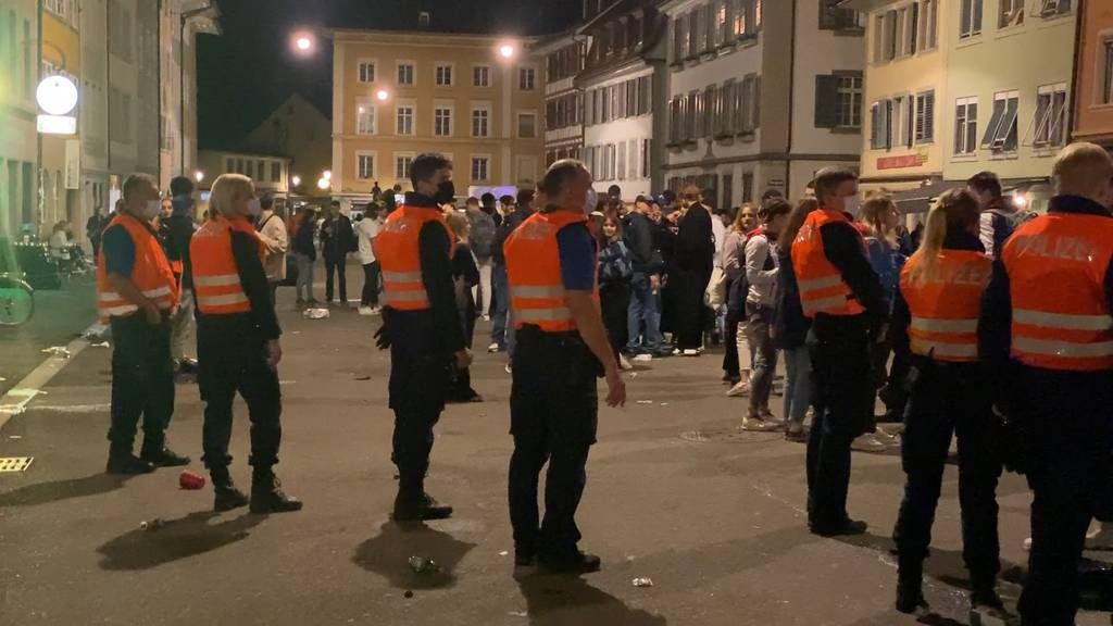 Winterthur: Polizei vertreibt Partyvolk aus Steinberggasse