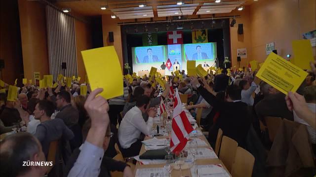 SVP-Delegierte sagen «Ja» zu neuem Parteiprogramm