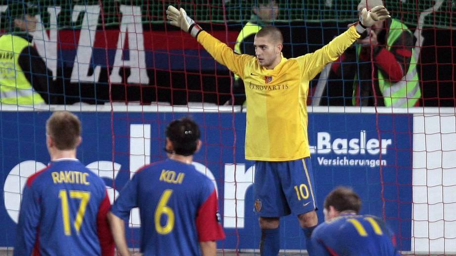 Mladen Petric hält Penalty!!! (FC Basel vs. AS Nancy)