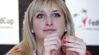 Timea Bacsinszky macht eine Entzündung im Handgelenk zu schaffen