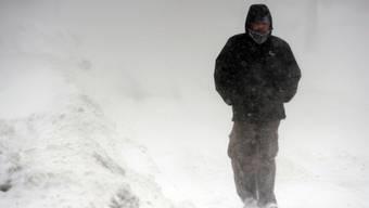 In Bulgarien herrscht tiefster Winter (Symbolbild)